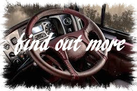 steering wheel truck mit text
